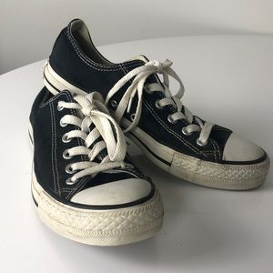 Converse Chuck Taylor All Star Low Top Black 7.5